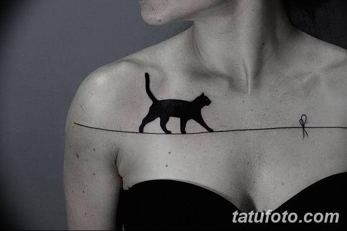 Фото черно-белые тату от 08.08.2018 №204 - black and white tattoos - tatufoto.com