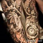 Фото черно-белые тату от 08.08.2018 №227 - black and white tattoos - tatufoto.com