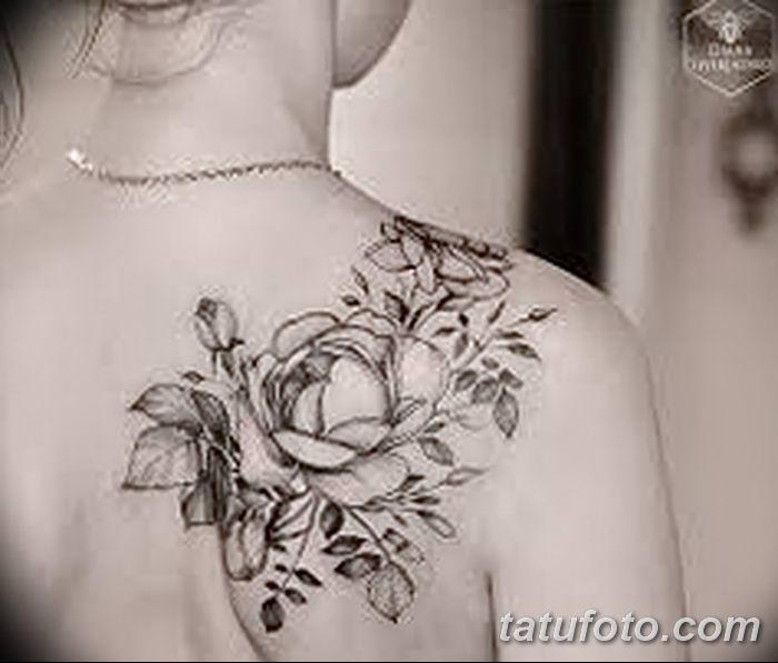 Фото черно-белые тату от 08.08.2018 №239 - black and white tattoos - tatufoto.com