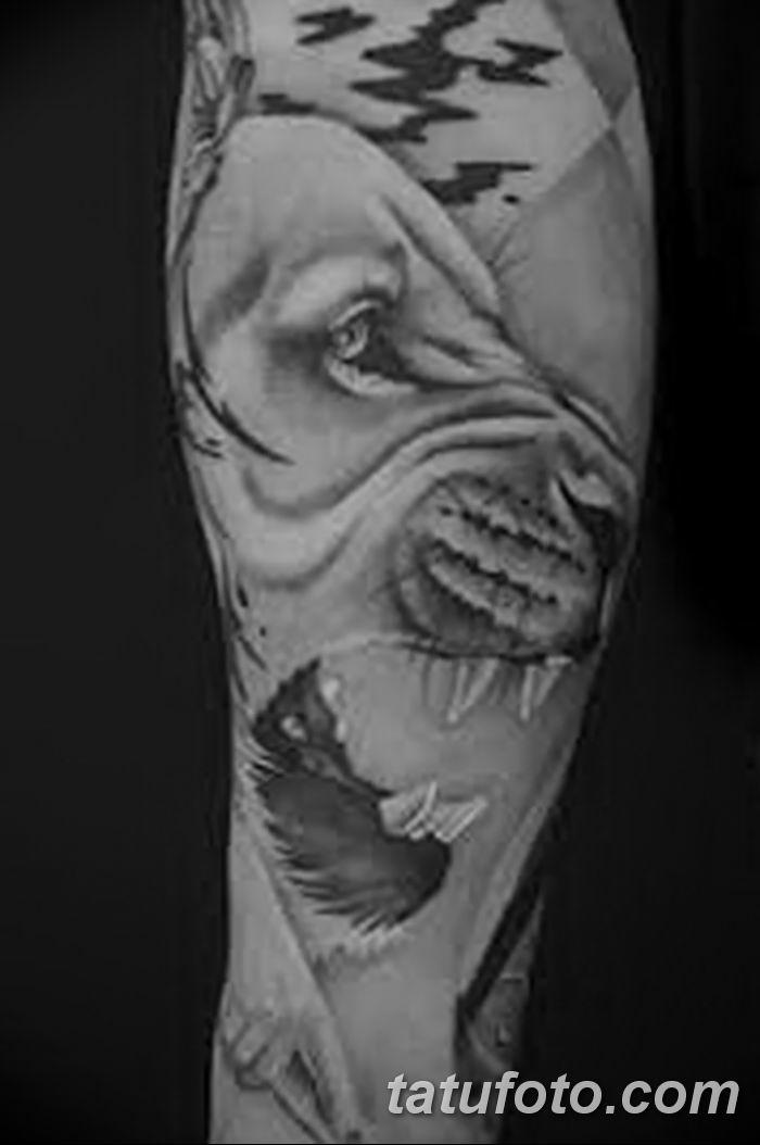 Фото черно-белые тату от 08.08.2018 №244 - black and white tattoos - tatufoto.com