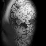 Фото черно-белые тату от 08.08.2018 №247 - black and white tattoos - tatufoto.com