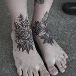 Фото черно-белые тату от 08.08.2018 №272 - black and white tattoos - tatufoto.com