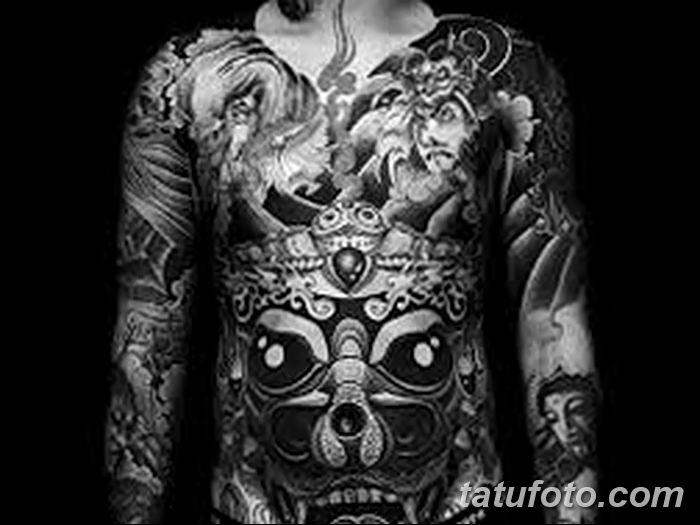 Фото черно-белые тату от 08.08.2018 №276 - black and white tattoos - tatufoto.com