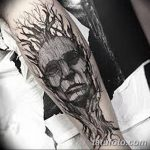 Фото черно-белые тату от 08.08.2018 №296 - black and white tattoos - tatufoto.com