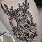 Фото черно-белые тату от 08.08.2018 №297 - black and white tattoos - tatufoto.com