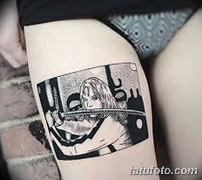Фото черно-белые тату от 08.08.2018 №305 - black and white tattoos - tatufoto.com