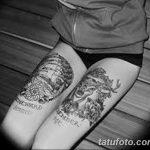 Фото черно-белые тату от 08.08.2018 №320 - black and white tattoos - tatufoto.com