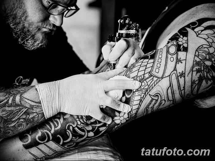 Фото черно-белые тату от 08.08.2018 №322 - black and white tattoos - tatufoto.com