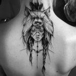 Фото черно-белые тату от 08.08.2018 №323 - black and white tattoos - tatufoto.com