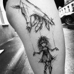 Фото черно-белые тату от 08.08.2018 №324 - black and white tattoos - tatufoto.com