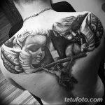 Фото черно-белые тату от 08.08.2018 №337 - black and white tattoos - tatufoto.com