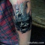 Фото черно-белые тату от 08.08.2018 №340 - black and white tattoos - tatufoto.com