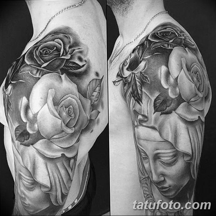 Фото черно-белые тату от 08.08.2018 №345 - black and white tattoos - tatufoto.com