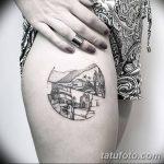 Фото черно-белые тату от 08.08.2018 №348 - black and white tattoos - tatufoto.com