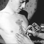 Фото черно-белые тату от 08.08.2018 №367 - black and white tattoos - tatufoto.com