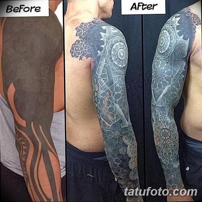 Фото черно-белые тату от 08.08.2018 №368 - black and white tattoos - tatufoto.com