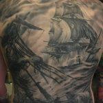 Фото черно-белые тату от 08.08.2018 №371 - black and white tattoos - tatufoto.com