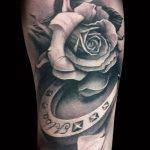 Фото черно-белые тату от 08.08.2018 №374 - black and white tattoos - tatufoto.com