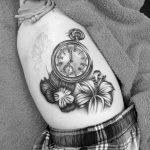 Фото черно-белые тату от 08.08.2018 №378 - black and white tattoos - tatufoto.com