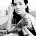 Фото черно-белые тату от 08.08.2018 №391 - black and white tattoos - tatufoto.com