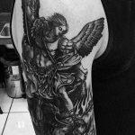 Фото черно-белые тату от 08.08.2018 №395 - black and white tattoos - tatufoto.com