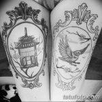 Фото черно-белые тату от 08.08.2018 №398 - black and white tattoos - tatufoto.com