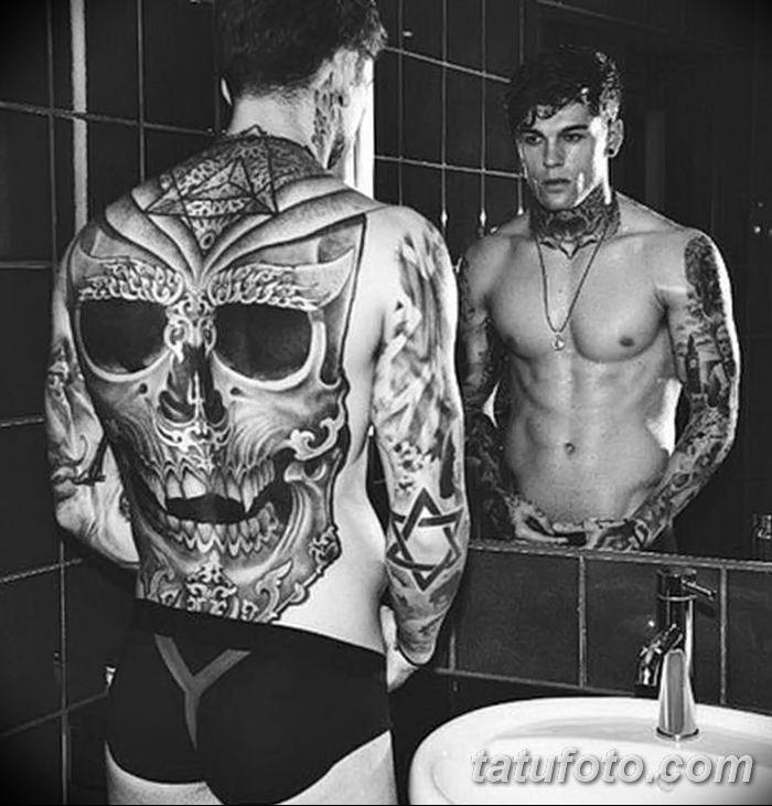 Фото черно-белые тату от 08.08.2018 №402 - black and white tattoos - tatufoto.com