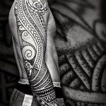 Фото черно-белые тату от 08.08.2018 №403 - black and white tattoos - tatufoto.com