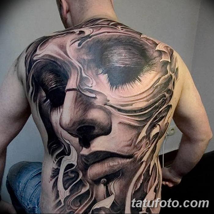 Фото черно-белые тату от 08.08.2018 №412 - black and white tattoos - tatufoto.com