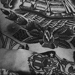 Фото черно-белые тату от 08.08.2018 №416 - black and white tattoos - tatufoto.com