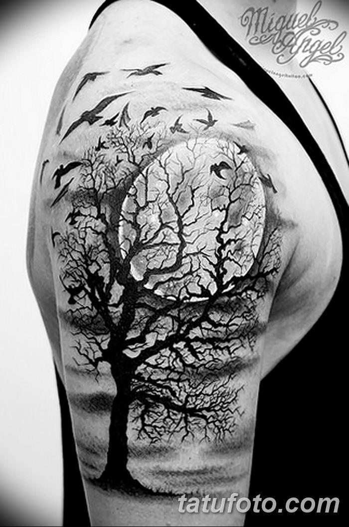 Фото черно-белые тату от 08.08.2018 №418 - black and white tattoos - tatufoto.com