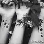 Фото черно-белые тату от 08.08.2018 №435 - black and white tattoos - tatufoto.com