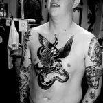 Фото черно-белые тату от 08.08.2018 №440 - black and white tattoos - tatufoto.com