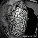 Фото черно-белые тату от 08.08.2018 №443 - black and white tattoos - tatufoto.com