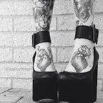 Фото черно-белые тату от 08.08.2018 №444 - black and white tattoos - tatufoto.com