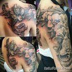Фото черно-белые тату от 08.08.2018 №445 - black and white tattoos - tatufoto.com