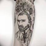 Фото черно-белые тату от 08.08.2018 №457 - black and white tattoos - tatufoto.com