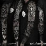 Фото черно-белые тату от 08.08.2018 №466 - black and white tattoos - tatufoto.com