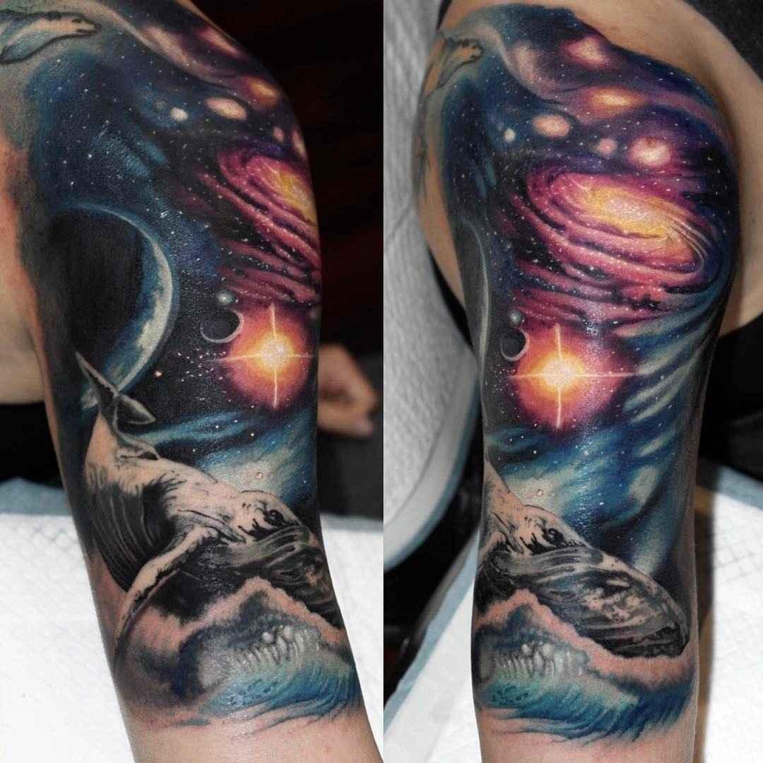 Fantastico реализм татуировки