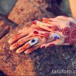 Фото Мехенди в домашних условиях от 10.09.2018 №193 - Mehendi at home - tatufoto.com