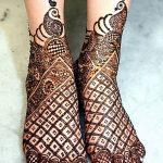 Фото Мехенди на голени от 17.09.2018 №090 - Mehendi on the lower leg - tatufoto.com