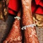 Фото Мехенди на голени от 17.09.2018 №136 - Mehendi on the lower leg - tatufoto.com