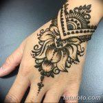 Фото Мехенди на запястье от 12.09.2018 №003 - Mehendi on the wrist - tatufoto.com