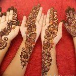 Фото Мехенди на запястье от 12.09.2018 №004 - Mehendi on the wrist - tatufoto.com