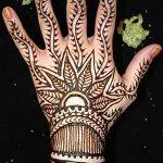 Фото Мехенди на запястье от 12.09.2018 №009 - Mehendi on the wrist - tatufoto.com