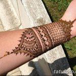 Фото Мехенди на запястье от 12.09.2018 №010 - Mehendi on the wrist - tatufoto.com