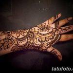 Фото Мехенди на запястье от 12.09.2018 №015 - Mehendi on the wrist - tatufoto.com