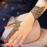Фото Мехенди на запястье от 12.09.2018 №017 - Mehendi on the wrist - tatufoto.com