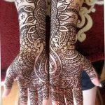 Фото Мехенди на запястье от 12.09.2018 №018 - Mehendi on the wrist - tatufoto.com