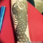 Фото Мехенди на запястье от 12.09.2018 №024 - Mehendi on the wrist - tatufoto.com